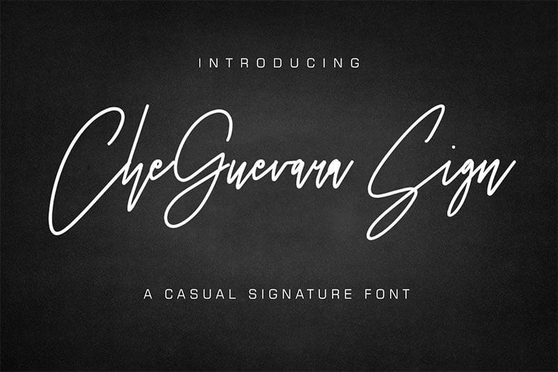 切·格瓦拉-SIGN的字體