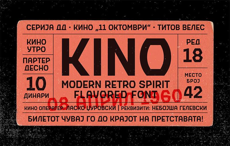 KINO-免費字體
