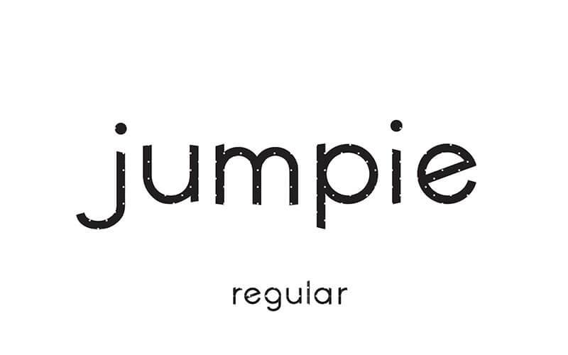 jumpie,排版