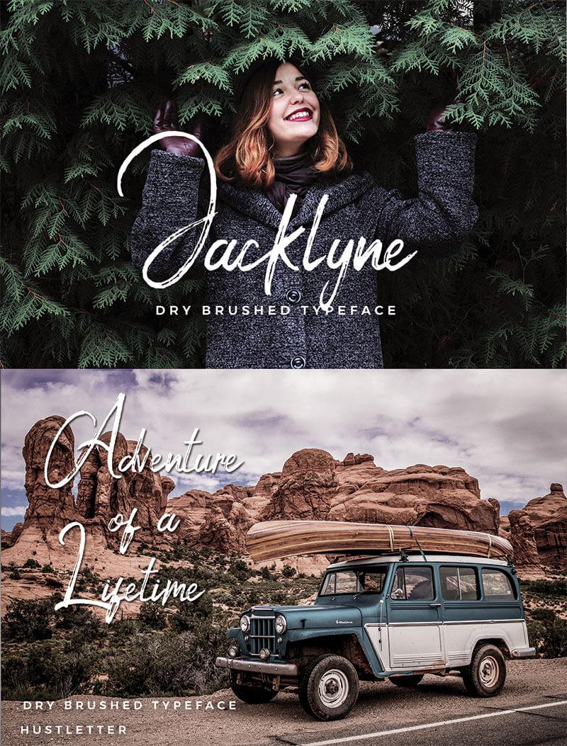 jacklyne-刷字體