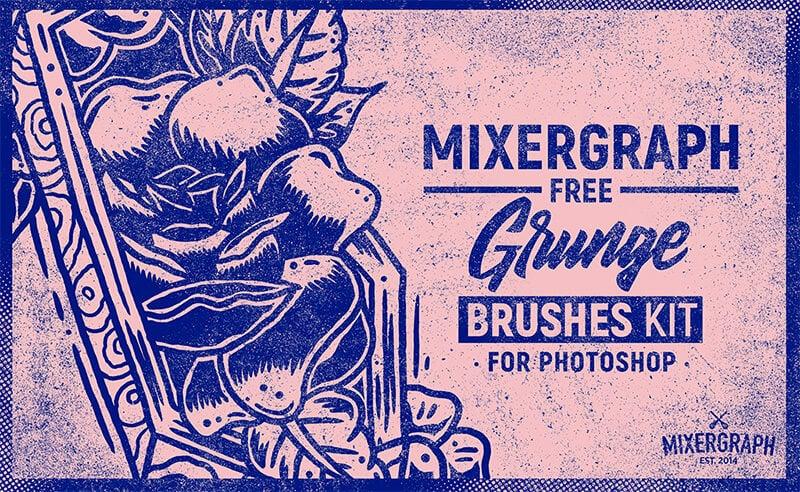 mixergraph-油漬刷