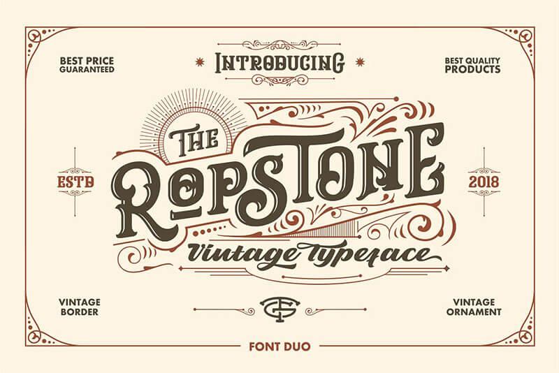 ropstone,字體