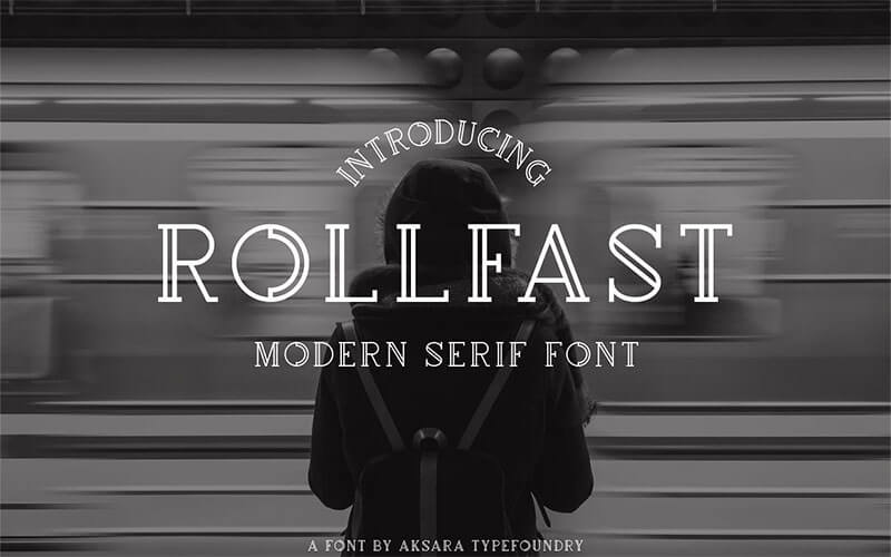 rollfast,字體