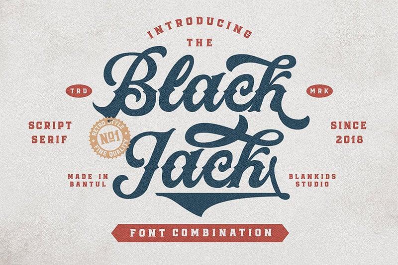 黑傑克的字體-1