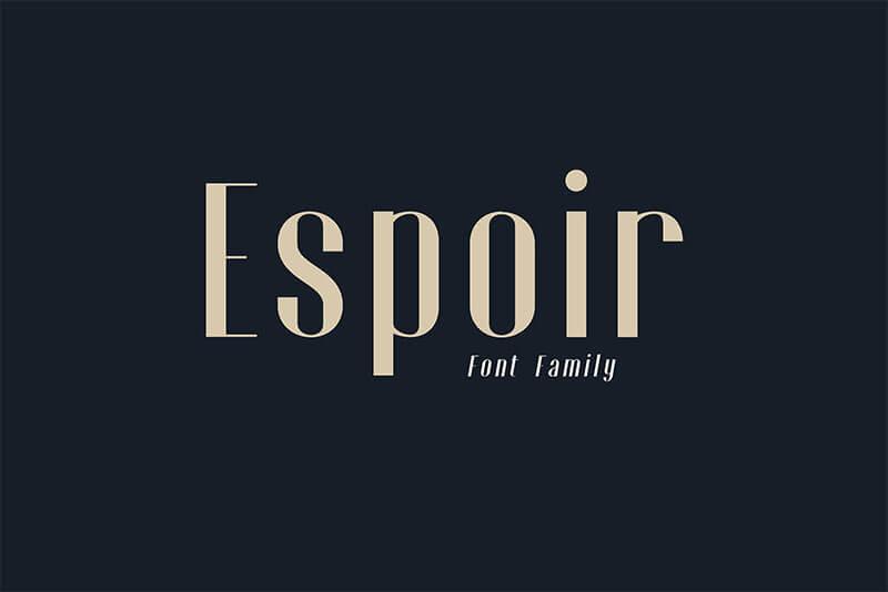 ESPOIR-FONT-FAMILY