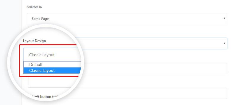 珠峰形式佈局設計選項