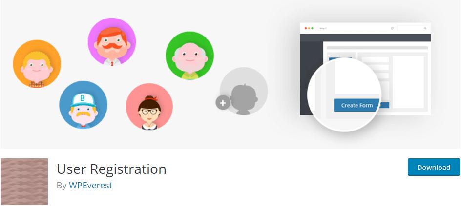 用戶註冊 - 最佳WordPress的註冊型材式插件