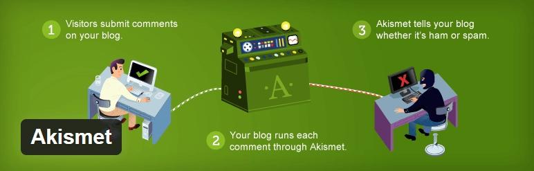 Akismet在必要的 - WordPress的,插件