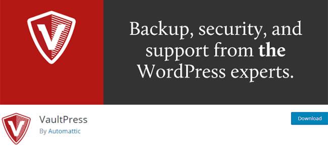 Vaultpress 是最佳的WordPress插件之一