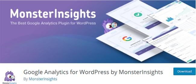 最好的WordPress的插件,MonsterInsightsbanner