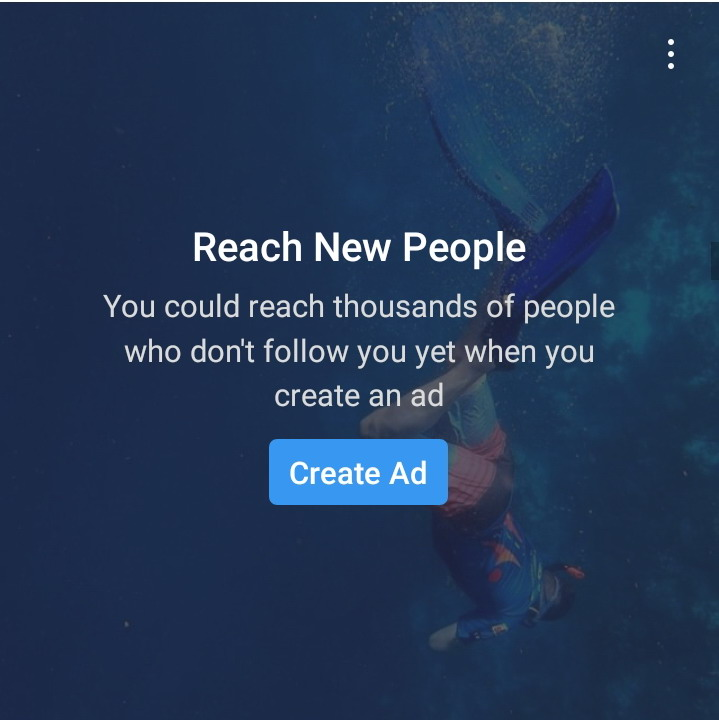 Instagram call to action examples