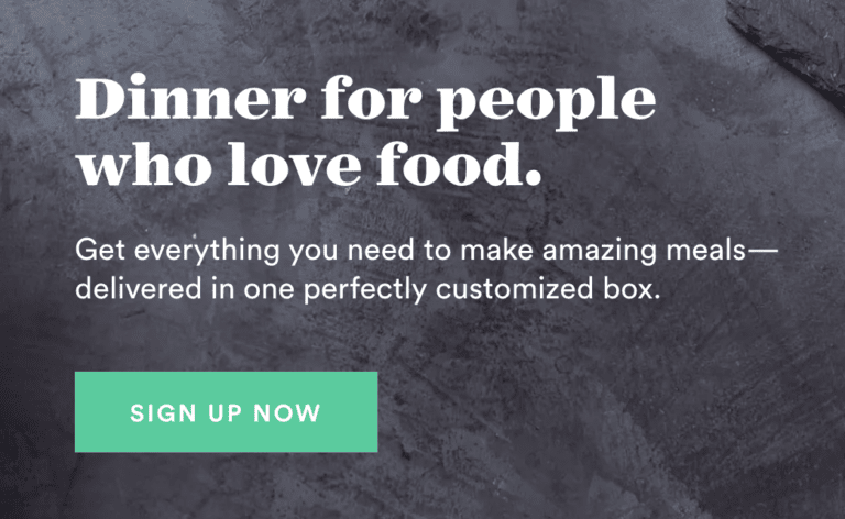 Plated call to action examples