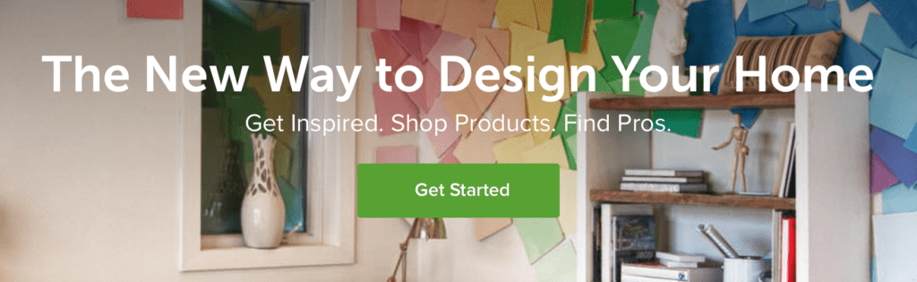 Houzz call to action examples