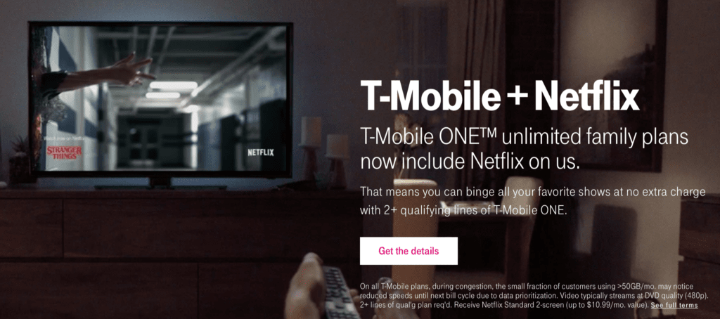 T-mobile call to action examples