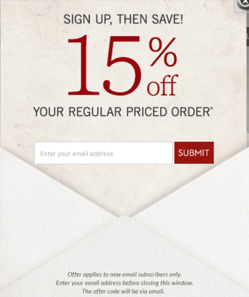 Discount call to action examples