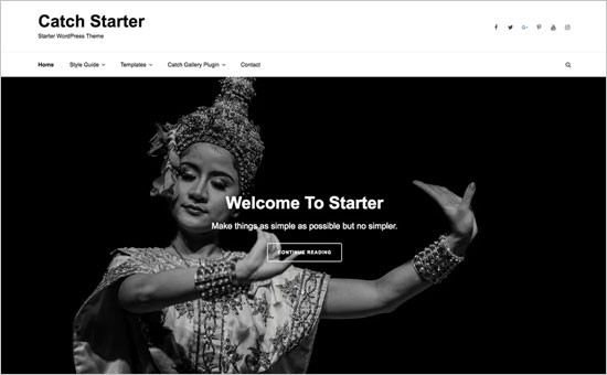 Catch Starter