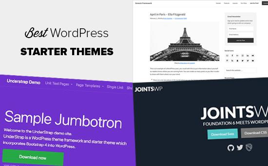 Best WordPress Starter Themes for Developers