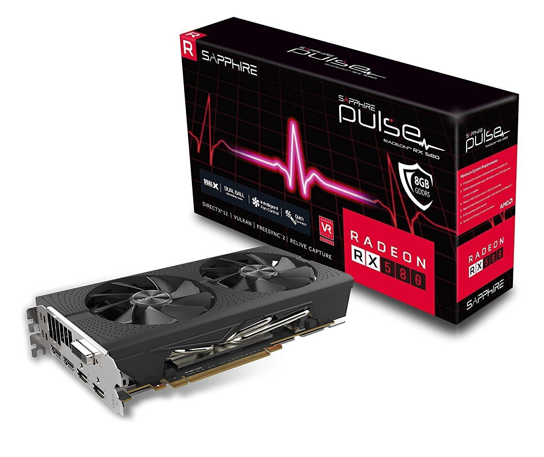 AMD Sapphire RX 580 Pulse 8GB