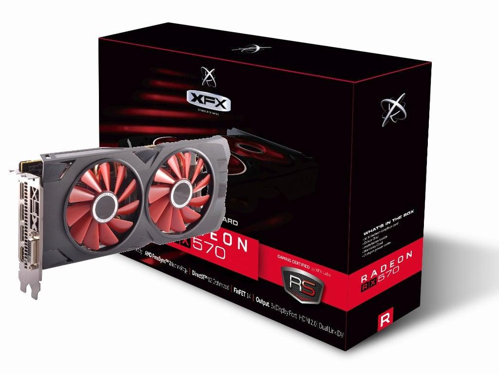 AMD XFX RX 570 8GB Black Edition