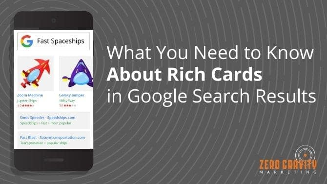 google rich cards