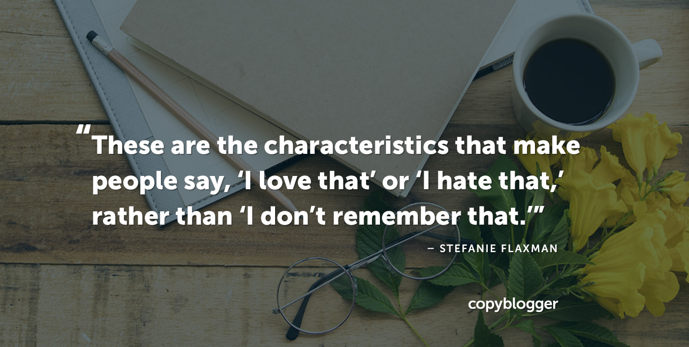 2 Key Factors that Distinguish Satisfying Content from Forgettable Ideas